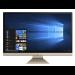 "ASUS Vivo AiO V272UAK-BA041T All-in-One PC/workstation 68.6 cm (27"") 1920 x 1080 pixels 8th gen Intel® Core™ i5 8 GB DDR4-SDRAM 1128 GB HDD+SSD Windows 10 Home Wi-Fi 5 (802.11ac) Black, Gold"
