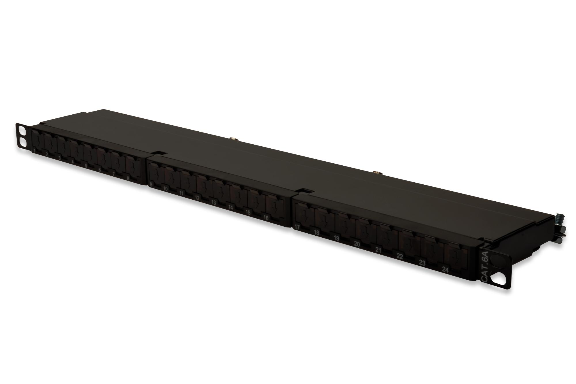 Digitus DN-91624S-SL-EA panel de parcheo 0.5U
