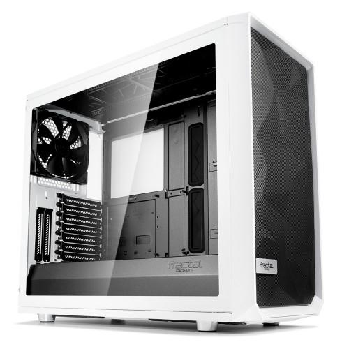 Fractal Design Meshify S2 White – TG Midi ATX Tower