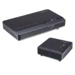 Lindy 38125 AV transmitter & receiver Black AV extender
