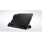 "Cooler Master NotePal Ergostand III notebook cooling pad 43.2 cm (17"") 800 RPM Black"