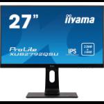"iiyama ProLite XUB2792QSU-B1 LED display 68.6 cm (27"") 2560 x 1440 pixels Quad HD Black"
