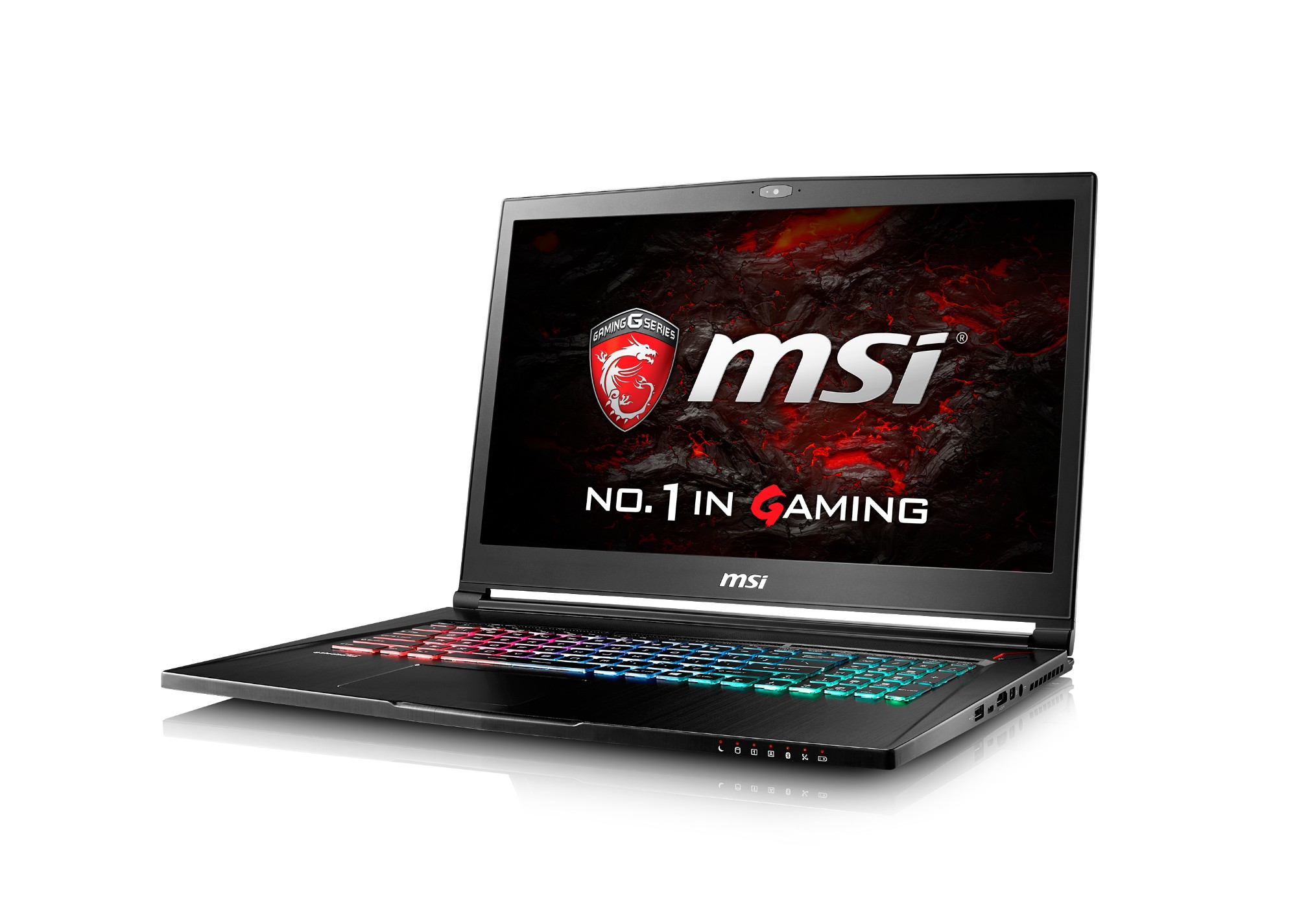 "MSI Gaming GS73VR 6RF-006UK Stealth Pro 4K 2.6GHz I7-6700HQ 17.3"" 3840 x 2160pixels Black Notebook"
