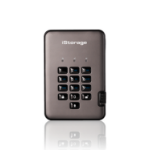 iStorage diskAshur PRO2 external hard drive 3000 GB Grey