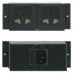Kramer Electronics TBUS POWER SOCKET MODULES . electrical power plug Black