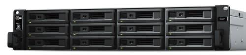 Synology RX1217RP disk array 24 TB Rack (2U) Black,Grey