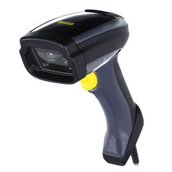 Wasp WDI7500 Handheld bar code reader 1D/2D LED Black,Yellow