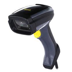 Wasp WDI7500 Handheld bar code reader 1D/2D LED Black, Yellow