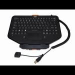 Havis KG-KB-201 USB QWERTY Black