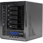 Wortmann AG TERRA NASBOX 5-2008 G3 (8 TB) Ethernet LAN Black
