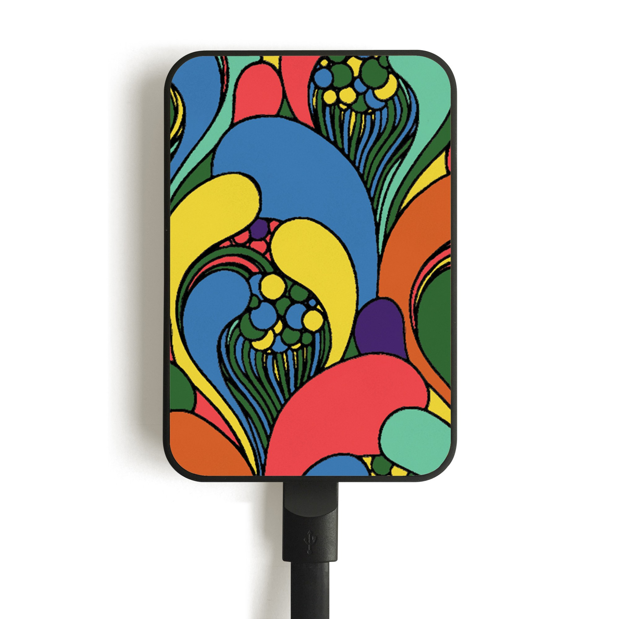 Smartoools MC10 FLOWERS batería externa Multicolor Polímero de litio 10000 mAh