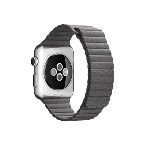 Apple 42mm Leather Loop - Large - watch strap - storm grey - for Watch (42 mm), Watch Edition (42 mm), Wat