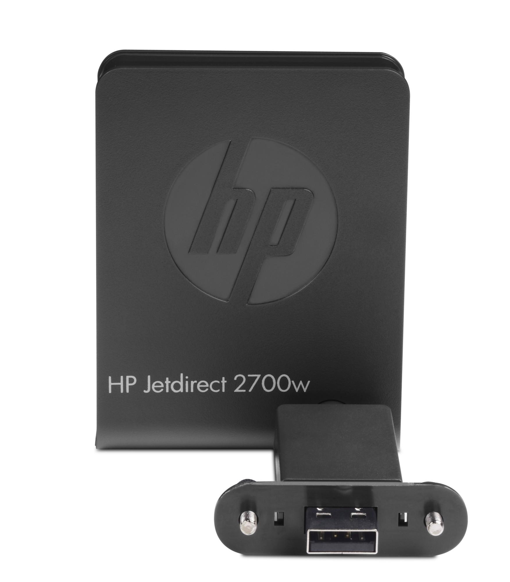 HP Jetdirect 2700w USB Wifi print server