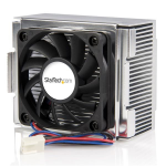 StarTech.com 85x70x50mm Socket 478 CPU Cooler Fan with Heatsink & TX3 Connector