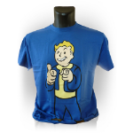 FALLOUT Vault Boys Charisma Medium T-Shirt, Blue (GE1207M)
