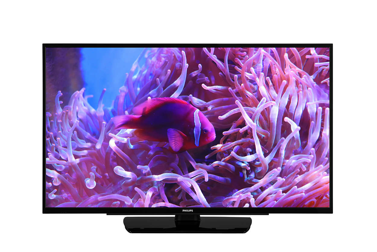 "Philips Studio 43HFL2889S/12 hospitality TV 109.2 cm (43"") Full HD 300 cd/m² Black 16 W A++"