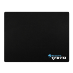 Roccat Taito 2017 Mid-Size Shiny Black Gaming Mousepad, 400 x 320 x 3 mm, Black (ROC-13-056)