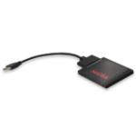 SanDisk SDSSD-UPG-G25 cable gender changer USB 3.0 SATA Schwarz