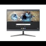 """Acer Chromebase 24 CA24I2 60.5 cm (23.8"""") 1920 x 1080 pixels Intel® Celeron® 4 GB DDR4-SDRAM 32 GB SSD Wi-Fi 5 (802.11ac) Silver All-in-One PC Chrome OS"""