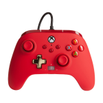 PowerA Enhanced Wired Red USB Gamepad Analogue / Digital Xbox One, Xbox Series S, Xbox Series X