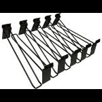 Sandberg Hooks for Alu Slatwall 10-Pack