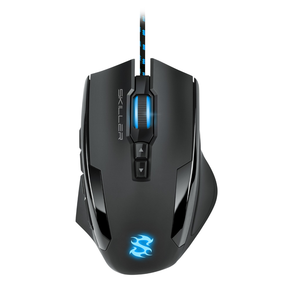 Sharkoon Skiller SGM1 mouse USB Type-A Optical 10800 DPI Right-hand