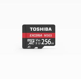 Toshiba Exceria M303 256GB memory card MicroSDXC UHS-I
