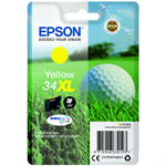 Epson C13T34744010 (34XL) Ink cartridge yellow, 950 pages, 11ml