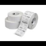 Zebra 10000293 White barcode label