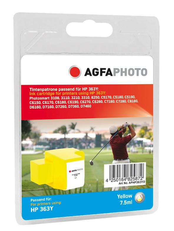 Compatible Inkjet Cartridge - Hp No363y - 7.5ml - Yellow