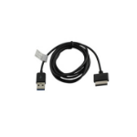 MicroSpareparts Mobile MSPP2107 USB cable USB A Male Black