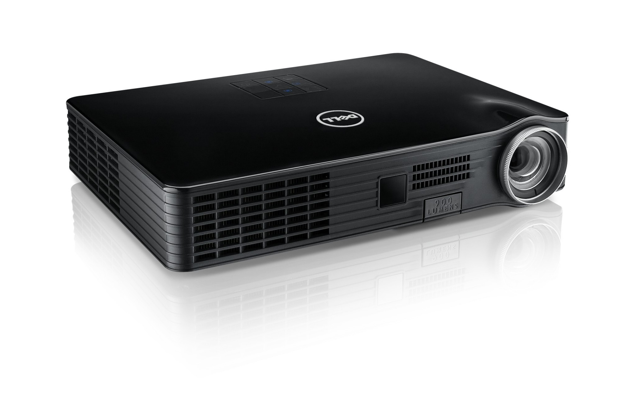 Dell m900hd portable projector 900ansi lumens led wxga for Handheld projector price