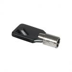 Mobilis 001269 cable lock accessory Key Black,Silver 1 pc(s)