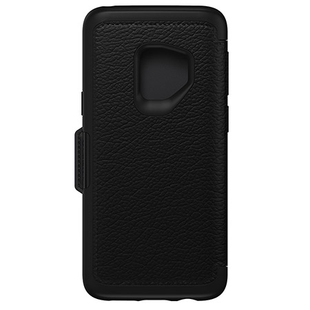 Samsung Galaxy S9 Strada Folio Case Shadow Black
