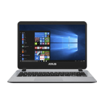 "ASUS R410UA-EB529R Grey Notebook 35.6 cm (14"") 1920 x 1080 pixels 2.3 GHz 7th gen Intel® Core™ i3 i3-7020U"