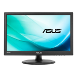 "ASUS VT168H touch screen-monitor 39,6 cm (15.6"") 1366 x 768 Pixels Zwart Multi-touch Tafelblad"