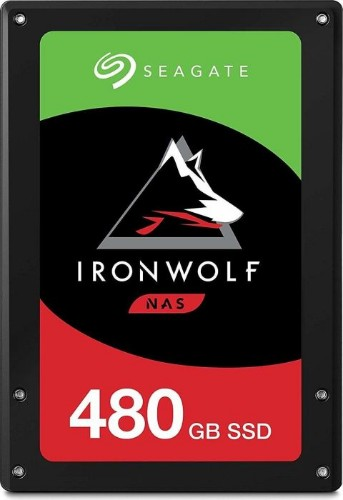 "Seagate IronWolf 110 internal solid state drive 2.5"" 480 GB Serial ATA III 3D TLC"