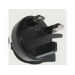 MicroSpareparts Mobile MSPT2UK 2 Black electrical power plug