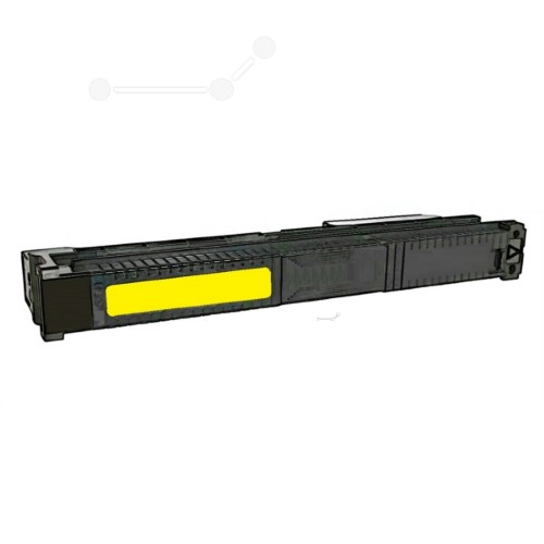 Dataproducts DPC9500YE compatible Toner yellow, 25K pages, 929gr (replaces HP 822A)