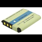 2-Power Camcorder Battery 3.7v 1100mAh