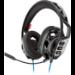 Plantronics RIG 300 HS auricular con micrófono Diadema Binaural Negro