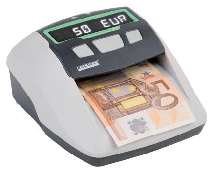 ratiotec Soldi Smart Pro counterfeit bill detector Black, Gray