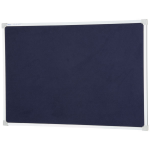 QUARTET PENRITE BULLETIN BOARD FELT 900X1200MM BLUE
