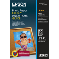 Epson Glossy - 10x15cm - 50 sheets photo paper