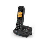 British Telecom BT 1700 Nuisance Call Blocker Single DECT telephone Caller ID Black