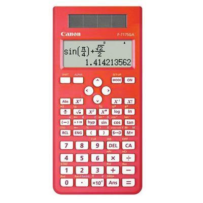 CANON F717SGAR CALCULATOR SCIENTIFIC 242 FUNCTIONS RED