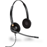 Plantronics EncorePro HW520 Binaural Head-band Black headset