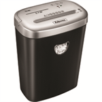 Fellowes 53C paper shredder Particle-cut shredding 22 cm Black