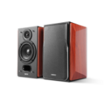 Edifier P17 loudspeaker 20 W Black, Wood Wired