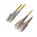 DP Building Systems OS2 LC-SC 15m LC SC Yellow fiber optic cable